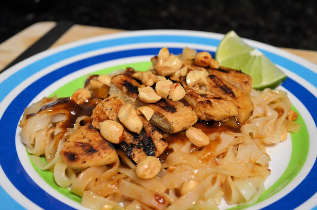 Thai Honey Peanut Chicken