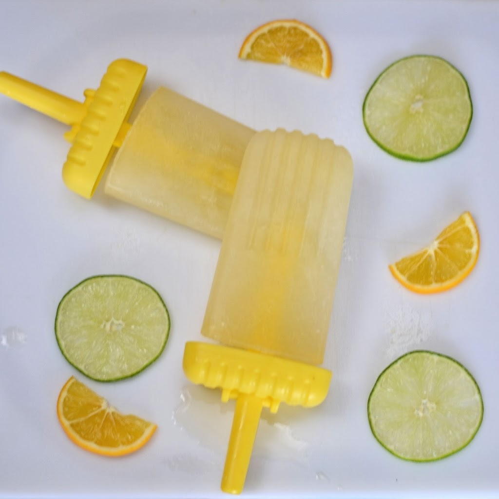 Margarita Ice Pops Recipe — Dishmaps