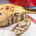 Chocolate Chip Dutch Oven Bread